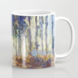 Poplars on the Bank of the Epte River by Claude Monet Coffee Mug