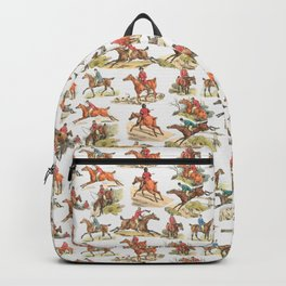 CRAZY HORSE RIDING IN THE FIELD Backpack
