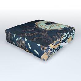 Metallic Octopus II Outdoor Floor Cushion