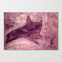 Cat Eat Dogfood? Canvas Print