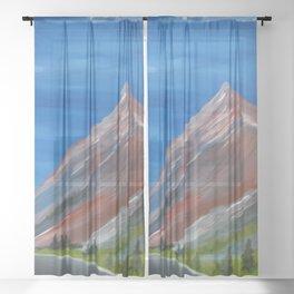 Mt. Superior Sheer Curtain