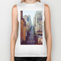 starbucks Biker Tanks featuring Which Starbucks? by Phil Provencio