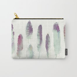 Feathers // Birds of Prey Carry-All Pouch