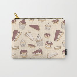 Chocolate Pastry Pattern Carry-All Pouch