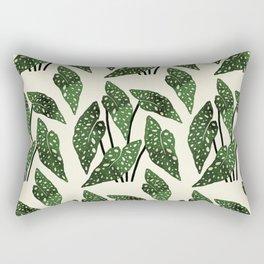begonia maculata interior plant Rectangular Pillow