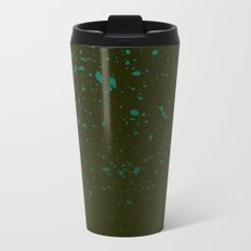 Trail Status / Green Metal Travel Mug