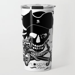 Octopus v Florida Pirate Travel Mug