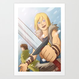 Son of Asgard Art Print
