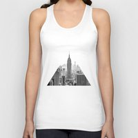 new york city Tank Tops featuring New York City by Studio Laura Campanella