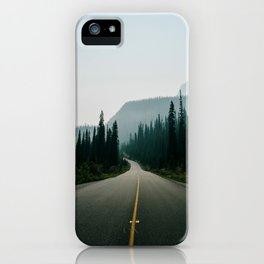 Road trip to the mountains iPhone Case