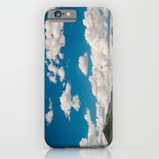 Puffy White Clouds with Blue Sky and Green Meadow Hills Slim Case iPhone 6s