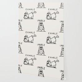 Inhale Exhale Shih Tzu Wallpaper