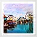 Paradise Pier at California Adventure by carlyc999