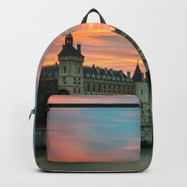 Sunset Over the Bridge Backpack