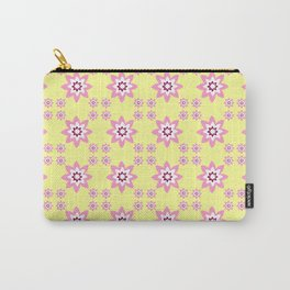 pink and yellow flower 2 Carry-All Pouch