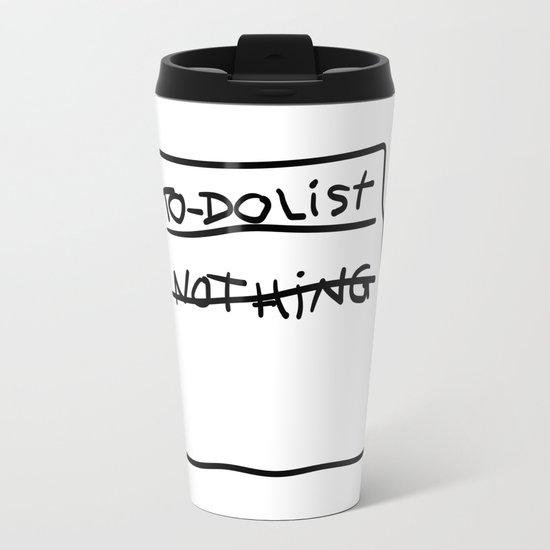 Spongebob Metal Travel Mug