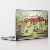 carousel Laptop & iPad Skins featuring Carousel  by Amber Hakim