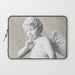 Ancient Sculpture Angel Decor Laptop Sleeve