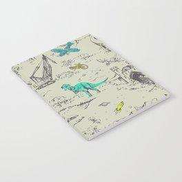 Adventure Toile  Notebook