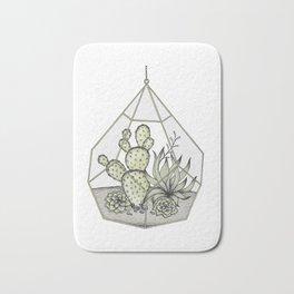 Succulent Terrarium Bath Mat