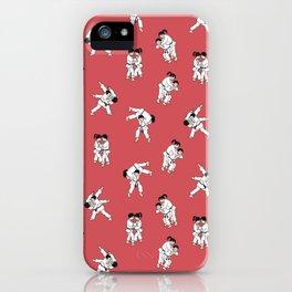 Judo - Red iPhone Case