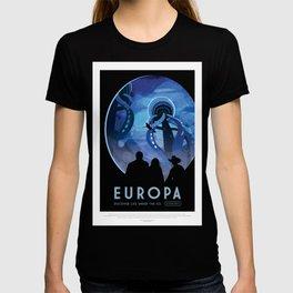 Europa - NASA Space Travel Poster T-shirt
