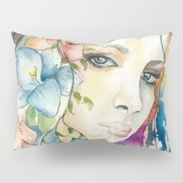 Boho Crystal Woman Pillow Sham