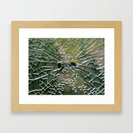 Craquelature Framed Art Print