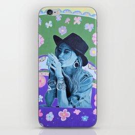 Boho Girl 1 Summer iPhone Skin