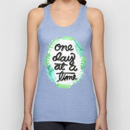 One Day At A Time Unisex Tank Top