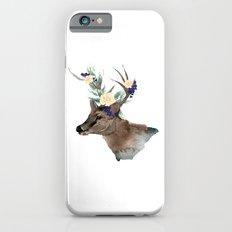 Boho Chic Deer With Flower Crown iPhone 6s Slim Case
