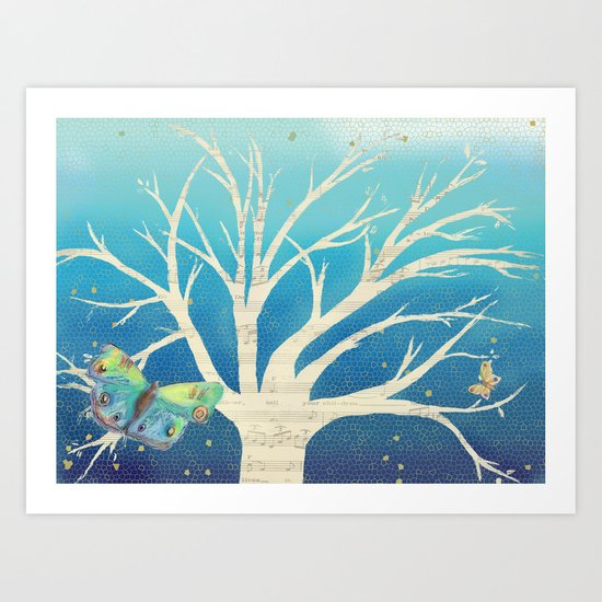 In the Evening Art Print