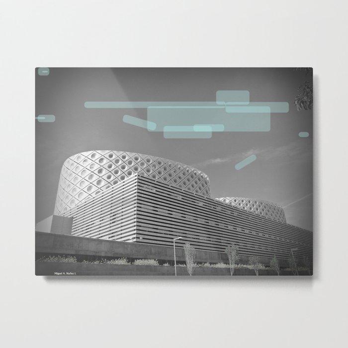 Sky Blue Metal Print
