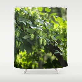 Smell the hops. Shower Curtain