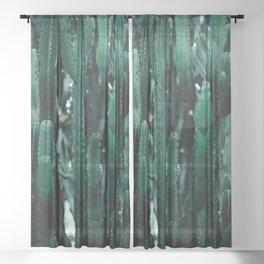 Cactus 07 Sheer Curtain