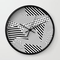 games Wall Clocks featuring Beach Games by Tyler Spangler