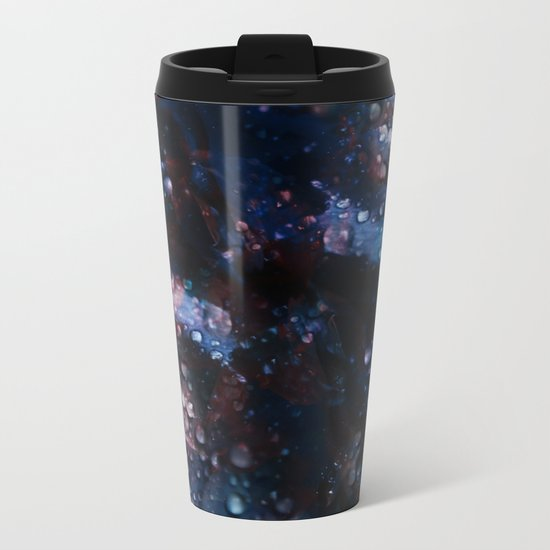 Abstract Feelings Metal Travel Mug