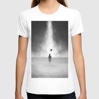feet T-shirts featuring Weightless by Samuel Gray