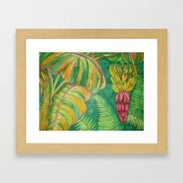 """Banana Patch"" Framed Art Print"