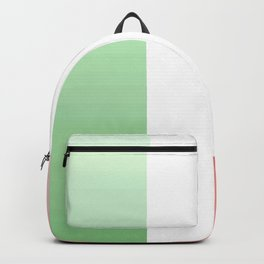 flag of Italy -with color Gradient Backpack