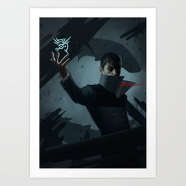 The Outsider's Mark Art Print