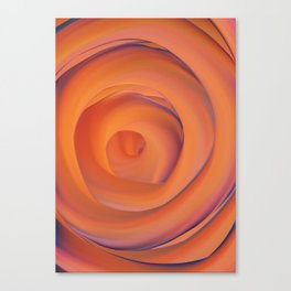 orange and violate gate colorful abstract Canvas Print