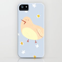 Happy Little Bird iPhone Case