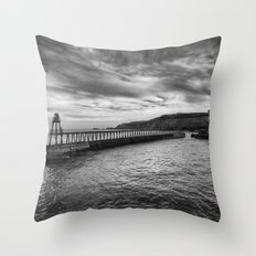Whitby Revisited  Throw Pillow