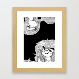 Kerstin and Kirsten Framed Art Print