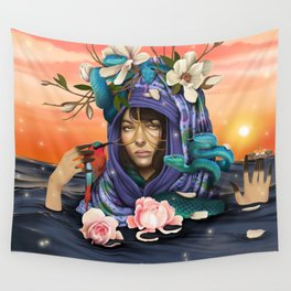The apprentice. Wall Tapestry