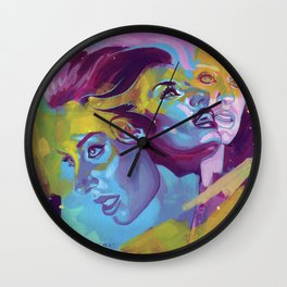 Hannah's beauty  Wall Clock