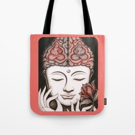 How meditation changes your brain... and makes you wiser? Tote Bag