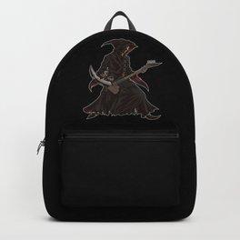 Grim Reaper Guitarist | Heavy Metal Festival Music Backpack