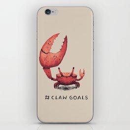 claw goals iPhone Skin